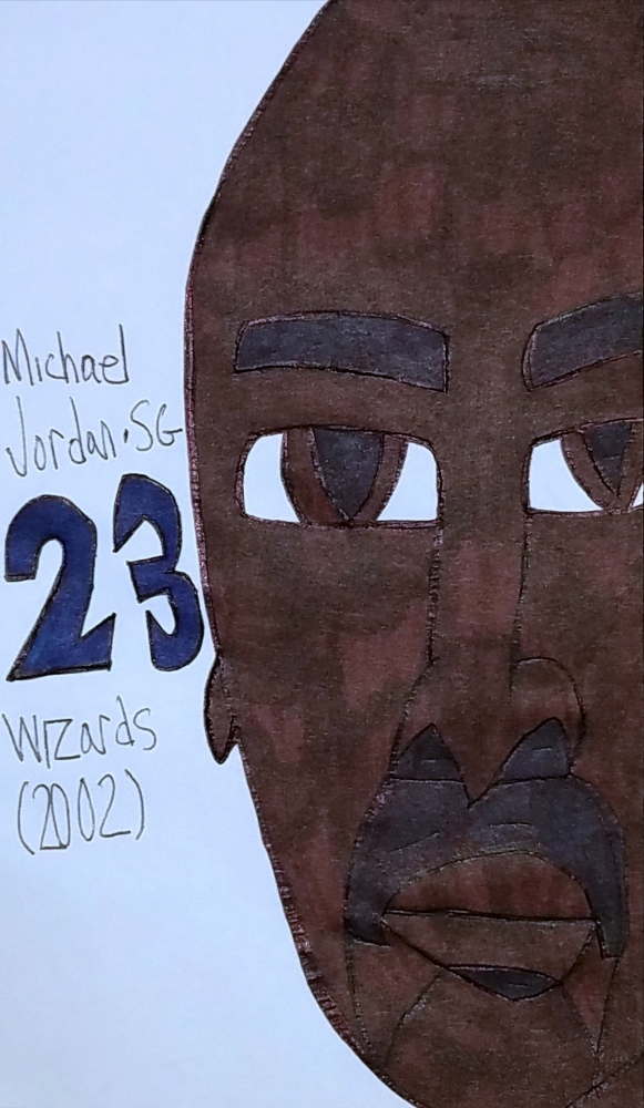 Michael Jordan par armattock